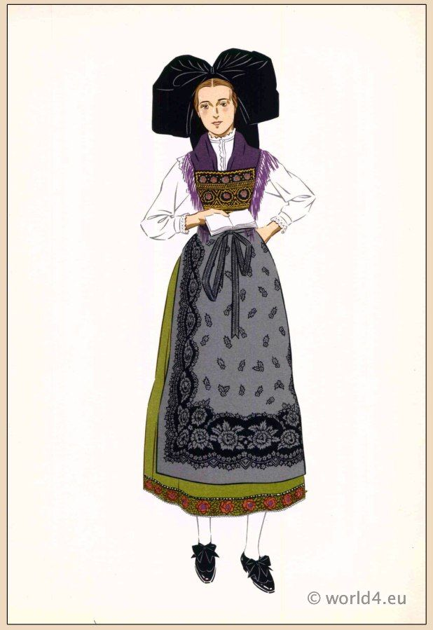 Woman from Alsace | Costume - National | Pinterest | .tyxgb76aj ...