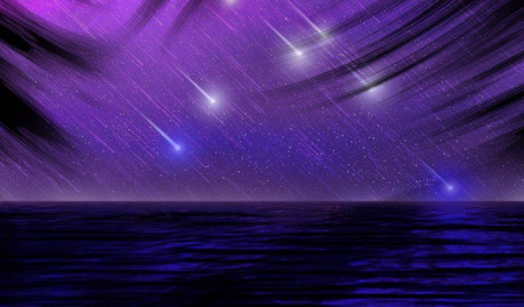 Shooting Stars Sky Nature Background Wallpapers On Desktop Rain Wallpapers Computer Wallpaper Wallpaper