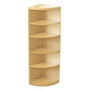 Www Rakuten Com Aberdeen 5 Shelf Quarter Round Bookcase Finish Maple Today 400 28 Free Budget Shipping Man Bookcase Office Storage Cabinets Home Kitchens