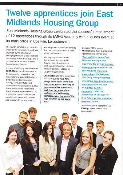 Emh Group Staff Newsletter Winter 2012 Business Impact Business Magazine Launch Event