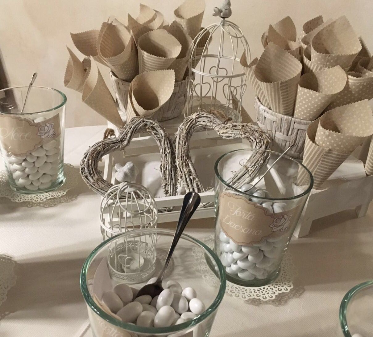 Confettata Matrimonio Country Chic : Confettata shabby chic wedding thatswedding
