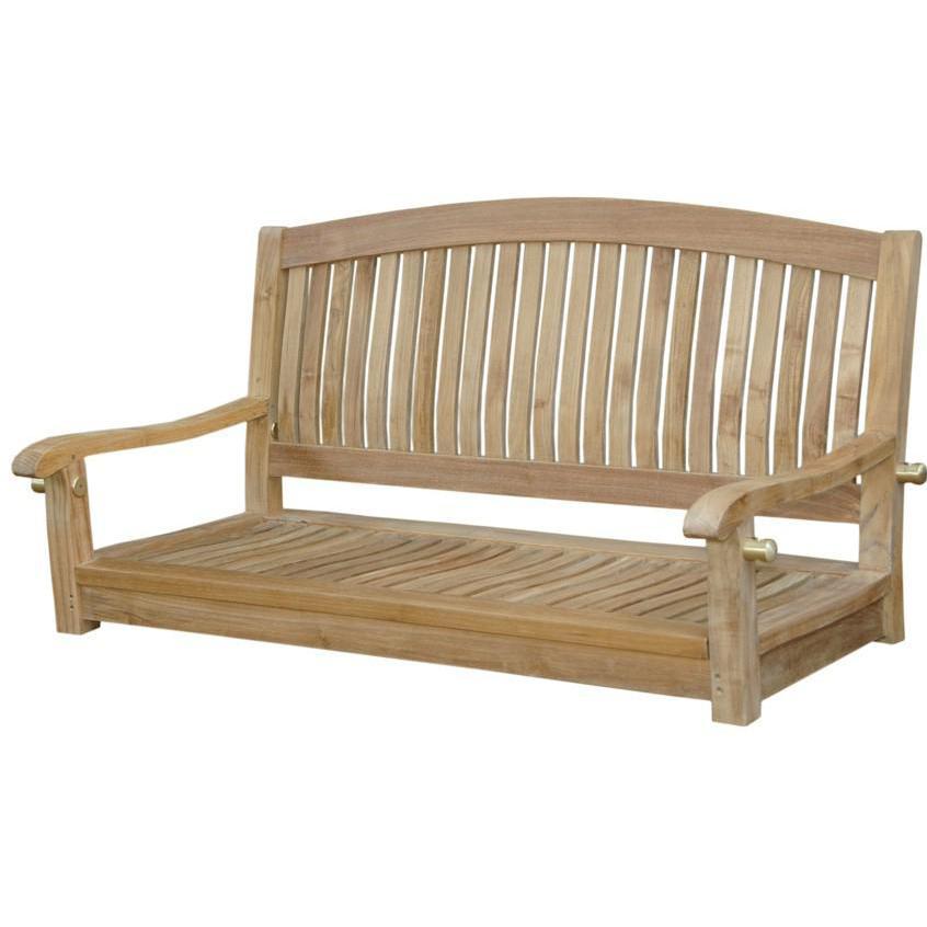 Brilliant Anderson Teak Del Amo 48 Inch Teak Patio Swing Sw 048R In Cjindustries Chair Design For Home Cjindustriesco