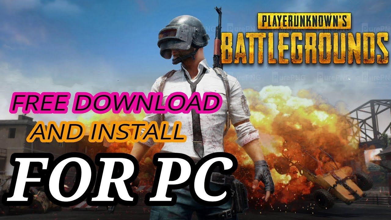 FREE PUBG PC! How to free download and install PUBG pc
