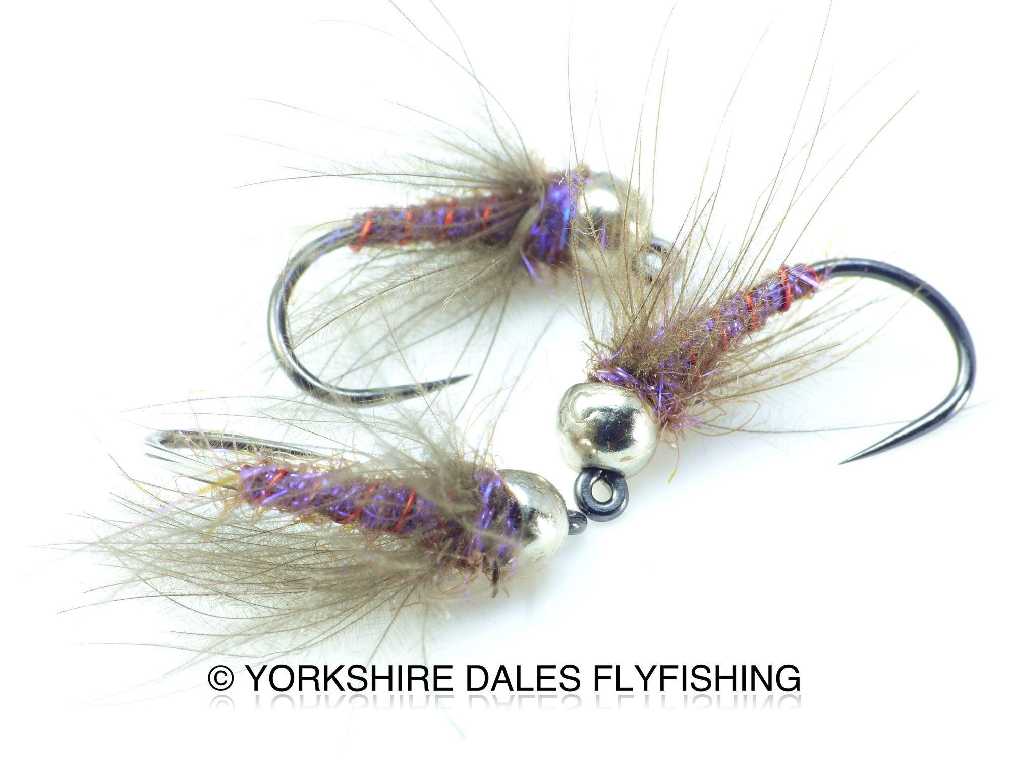 Light Weight Pheasant Tail Nymphs Flies Barbless Still Water Grayling Trout