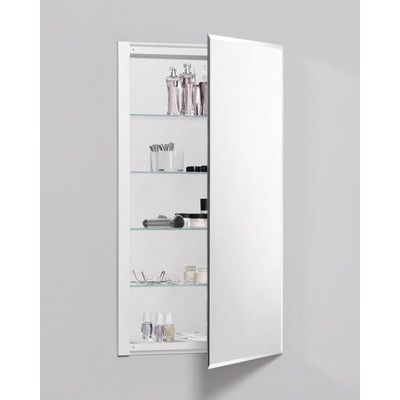 "Robern R3 Series 24"" x 36"" Recessed Flat Medicine Cabinet"