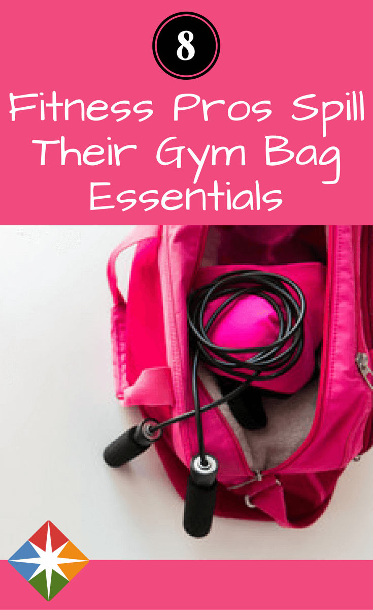 61e8aaf02cfb What do 8 fitness pros have in their bags  We spill the 78 items they can t  do without. Find out what they are and if you need them for your next  workout.