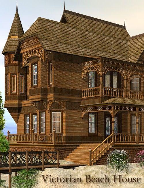 Victorian Beach House Circa 1890 Beach House Plans Lodge Style House Plans Beach House