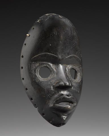 Sold for US$ 4,000 DAN MASK, IVORY COAST https://www.bonhams.com/auctions/21022/lot/155/?category=grid