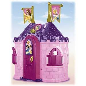 Princess Play House   Architectural Designs Famosa Disney Princess Castle Playhouse Baby Pinterest