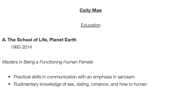 Dating of earth résumé
