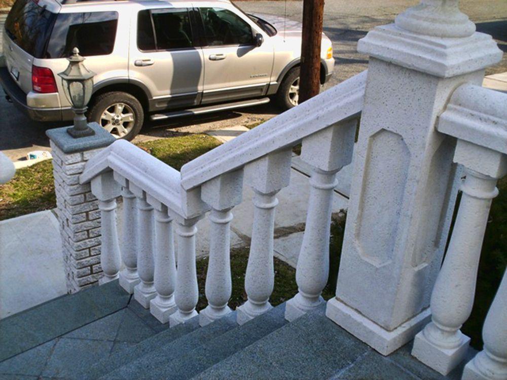 Best Maintenance Free Concrete Railings For The Front Porch 400 x 300