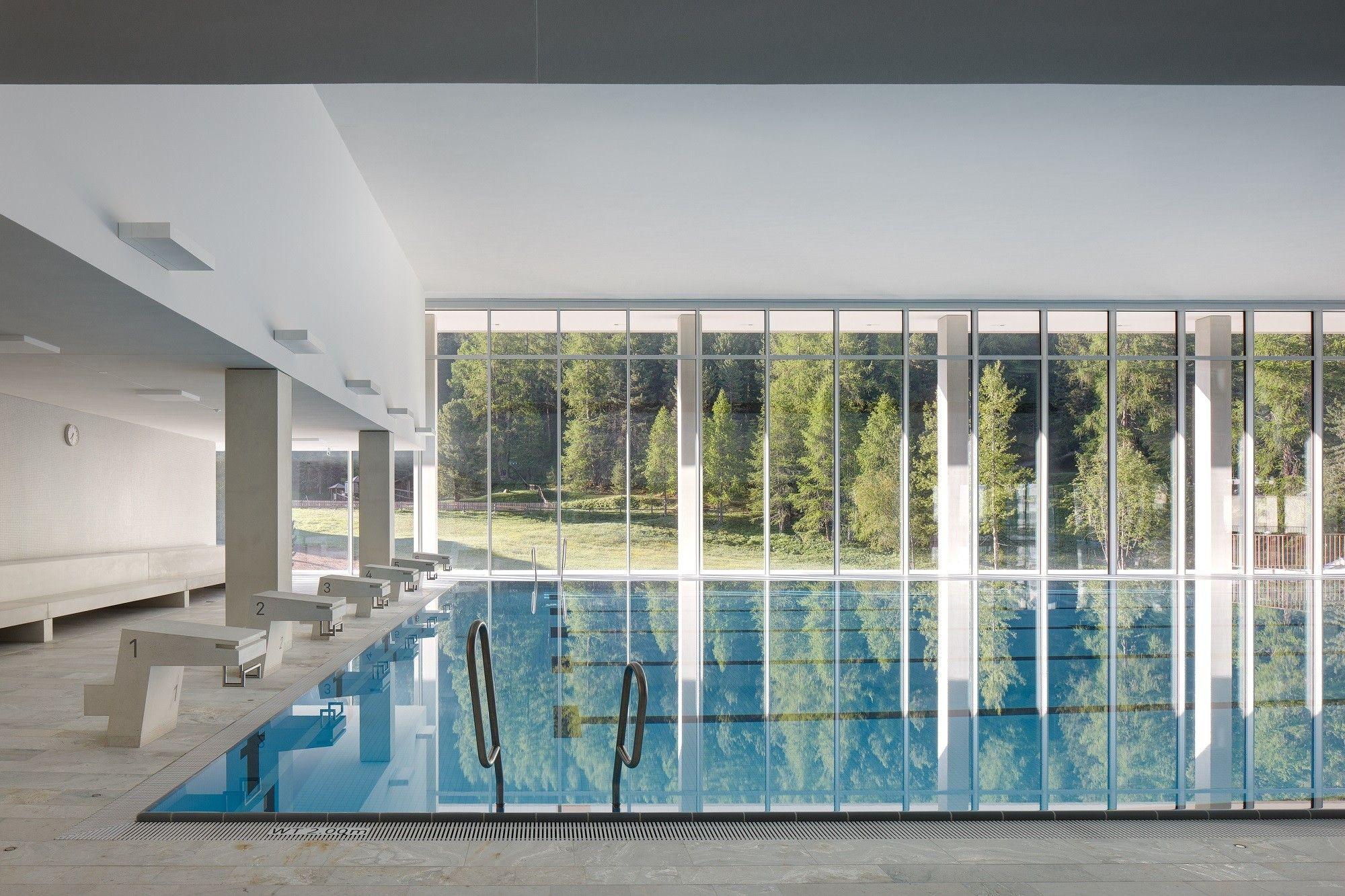 hallenbad, spa und sportzentrum ovaverva in st. moritz - bad und, Wohnzimmer dekoo