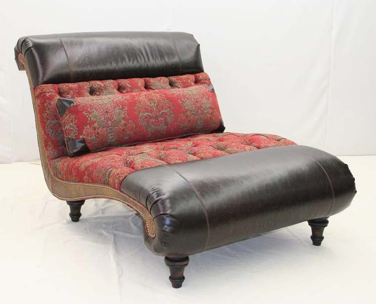 Veracruz Western Chaise Lounge Old Hickory Tannery Furniture : old hickory tannery chaise - Sectionals, Sofas & Couches