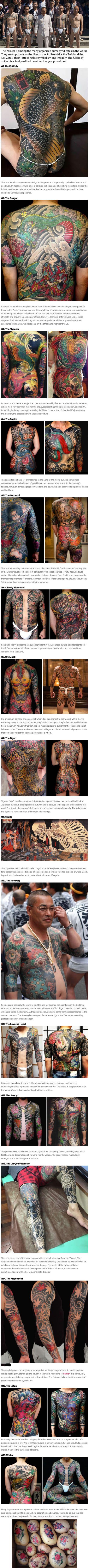 fascinating japanese yakuza tattoos and their hidden symbolic