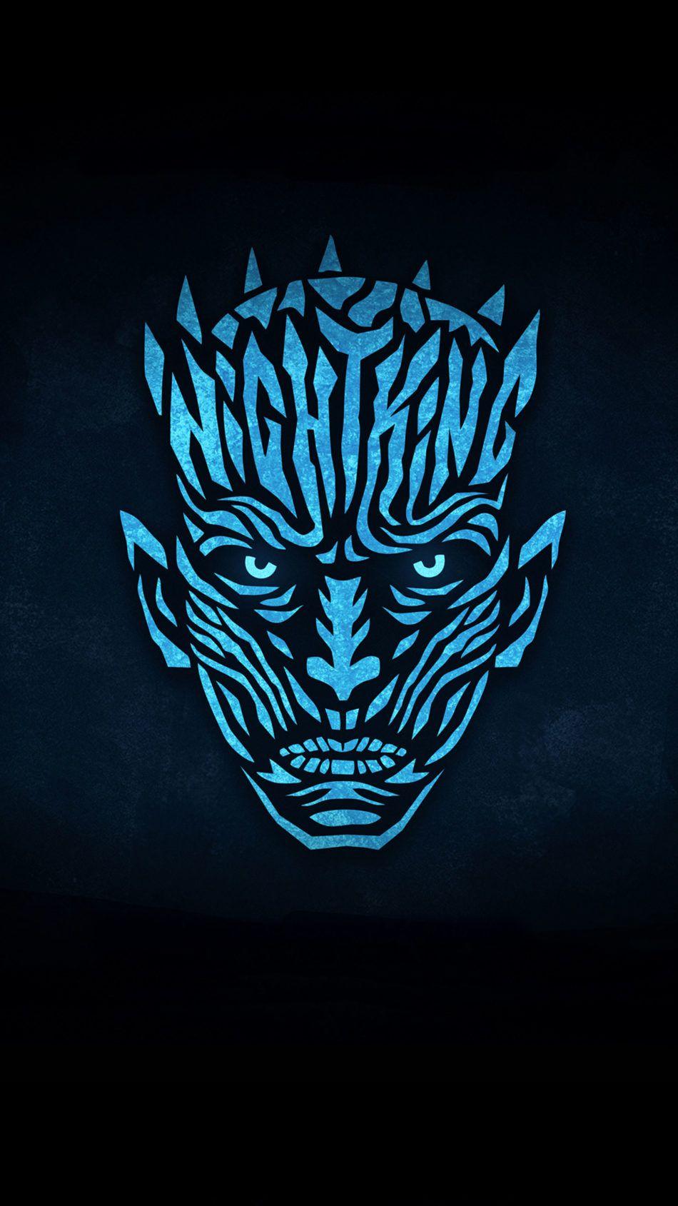 Night King Minimal 4k Ultra Hd Mobile Wallpaper In 2020 Night King Game Of Thrones Art Minimalist Wallpaper