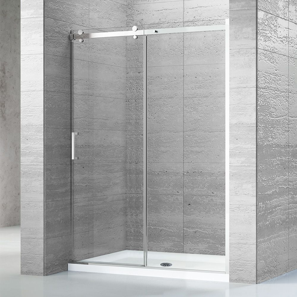 60 X 32 Alcove Shower Kit With Base And Door Alcove Shower