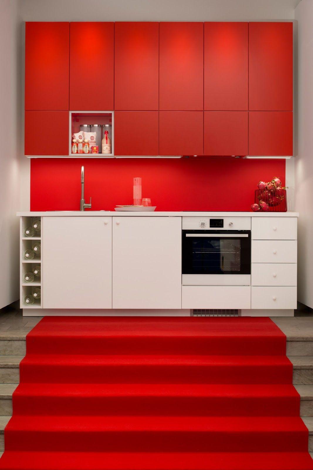 Hege Greenall Scholtz Red Kitchen Cabinets Ikea Metod Kitchen Ikea Kitchen Design