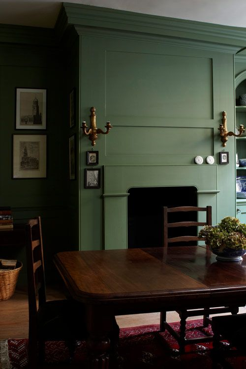 Best Paint Colours Calke Green Farrow Ball Breakfast 400 x 300