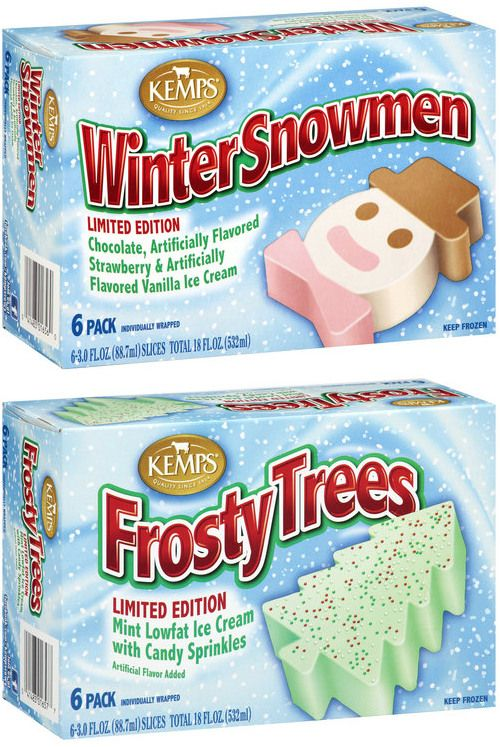 Kemps Winter Treats O Seasonal Favorites Snowmen