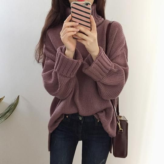 3 color 2016 korean chic autumn and winter fashion turtleneck long-sleeve pullover knitted sweaters womens (A9162)