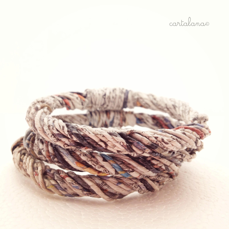 CARTALANA© - recycled paper jewelry