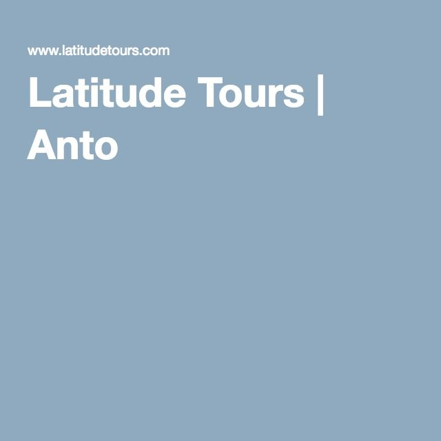 Latitude Tours | Hire a local guide