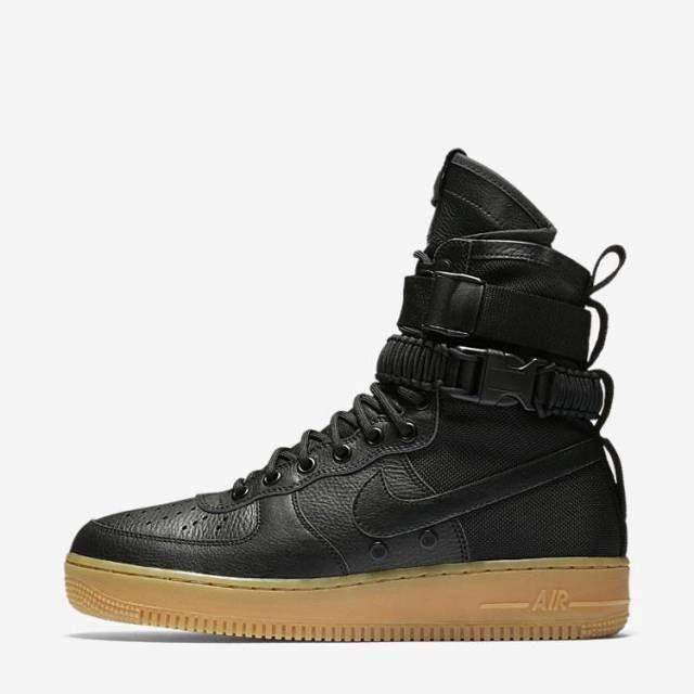 Nike SF AF1 Urban Utility Air Force 1 Black Gum 859202 009