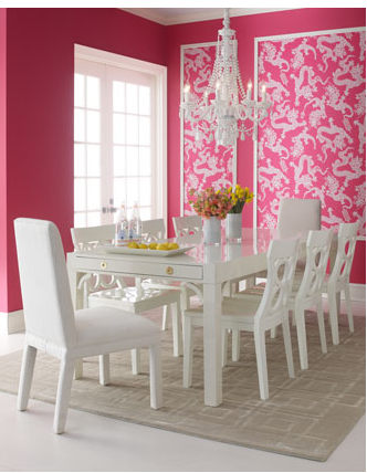 See, pink can look classy! I\'m determined to have furniture or a ...