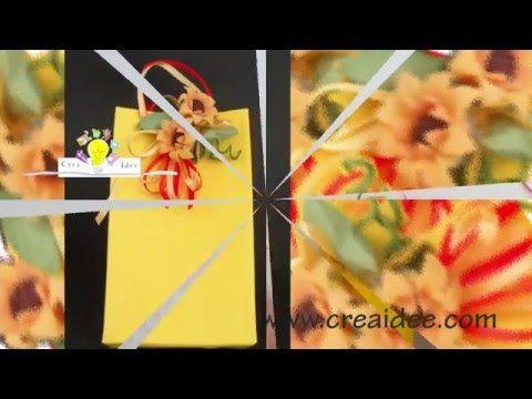 Sacchetto per regali e bomboniere - Tutorial DIY di Creaidee   Bomboniere, Regali, Tutorial