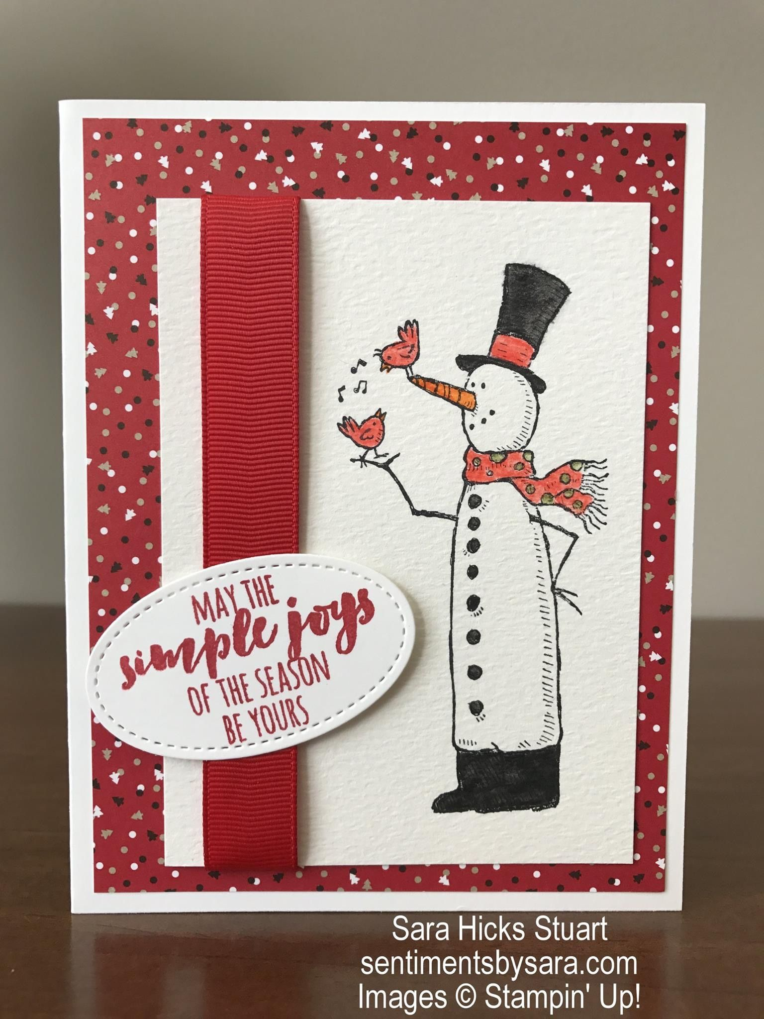 SU! Snow Much Fun stamp set - Sarah Stuart