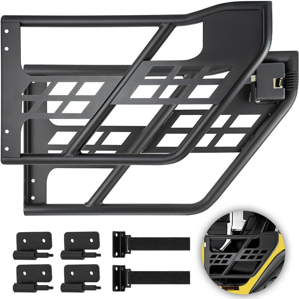 Sponsored Ebay For Jeep Wrangler Jk 2007 2018 2 Dr Steel Tube Door Hinge Accessories Black Jeep Wrangler Jeep Wrangler Jk Jeep