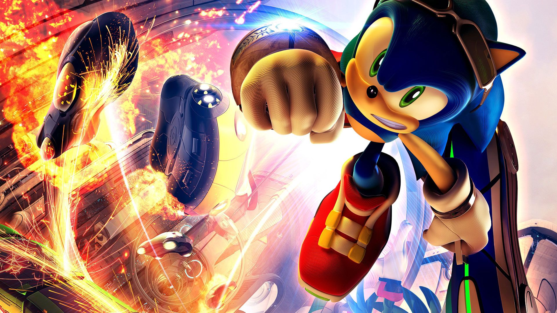 Sonic Riders 1080p Game Wallpapers Hd Wallpapers Sonic The Hedgehog Gaming Wallpapers Cartoon Wallpaper