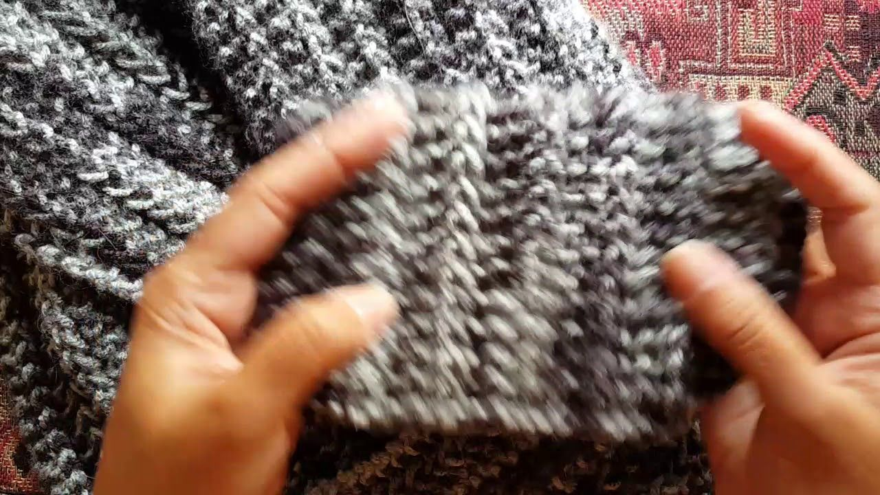 How to knit the 1row repeat scarf a knittycats knits