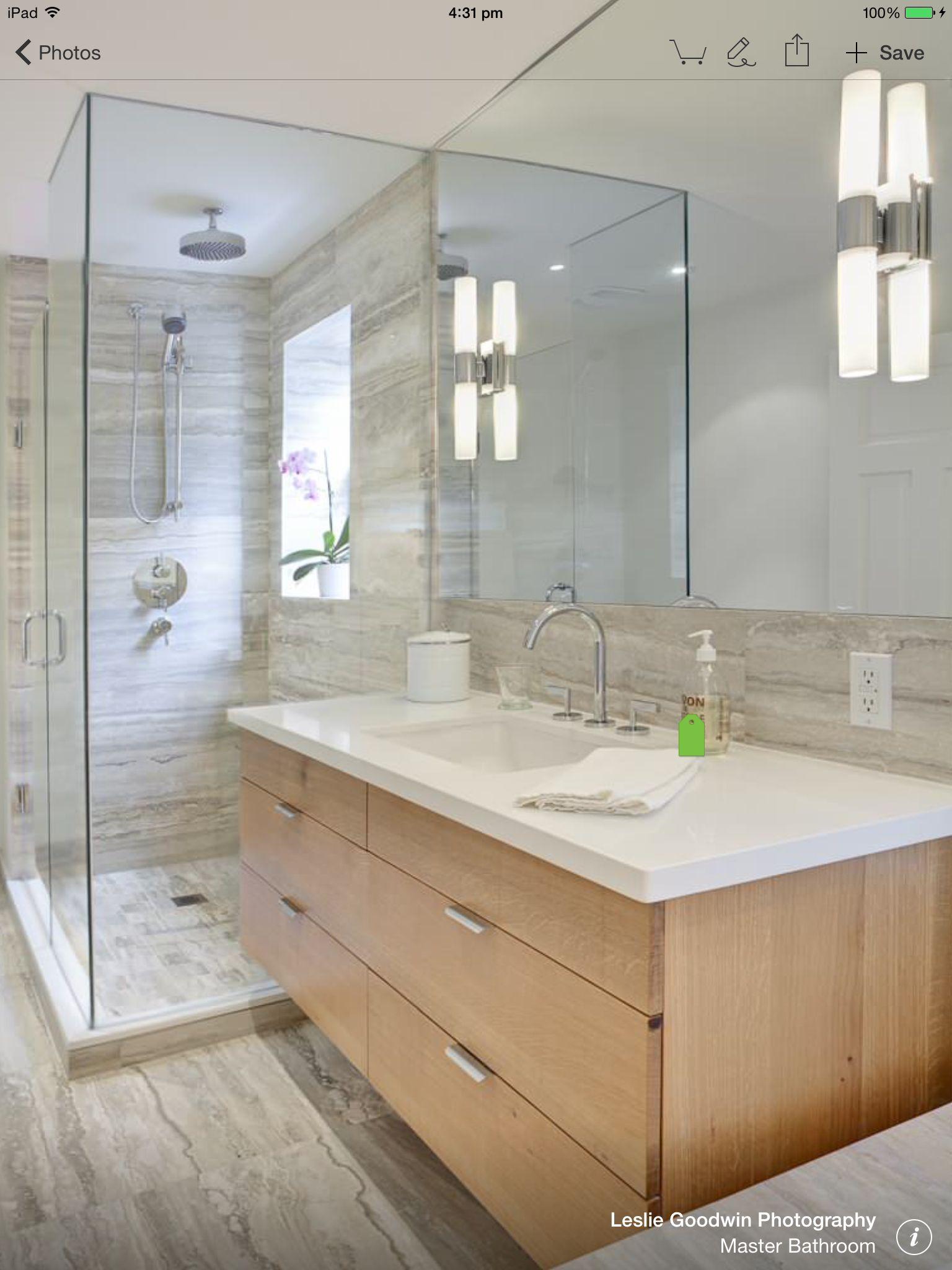 gray bathroom walls - 736×963