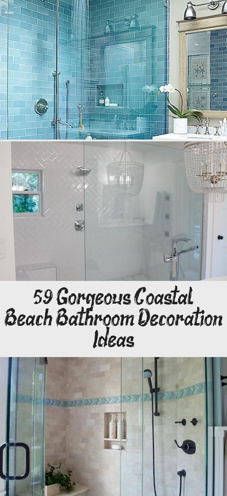 59+ Gorgeous Coastal Beach Bathroom Decoration Ideas – İdeas Bathroom