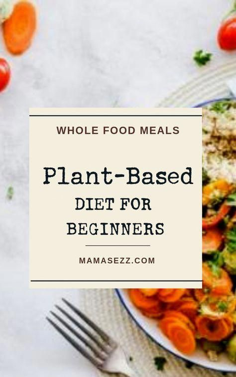 Photo of Plant Based Diet for Beginners