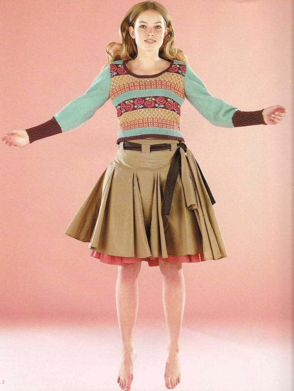Rowan (British knitting/crochet magazine) - The Milk Cotton Collection