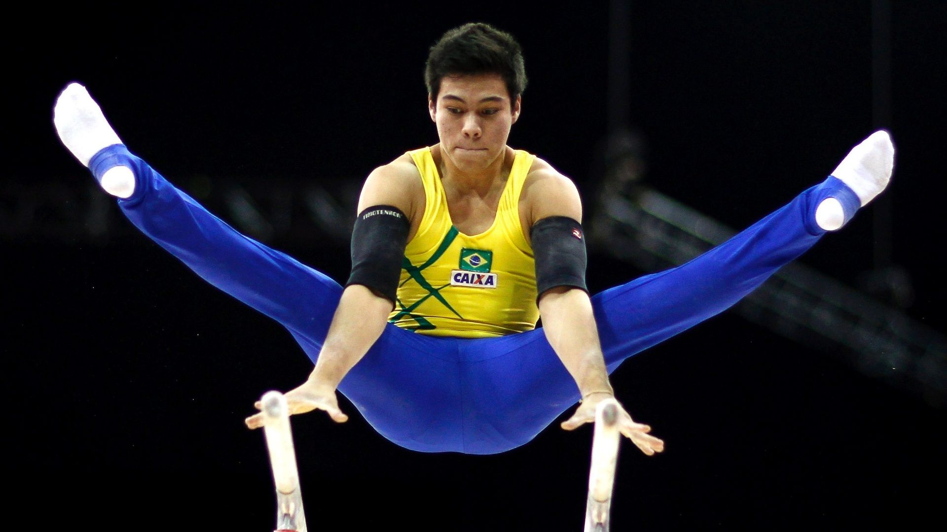 Sérgio Sasaki Male gymnast, Floor workouts, Athlete