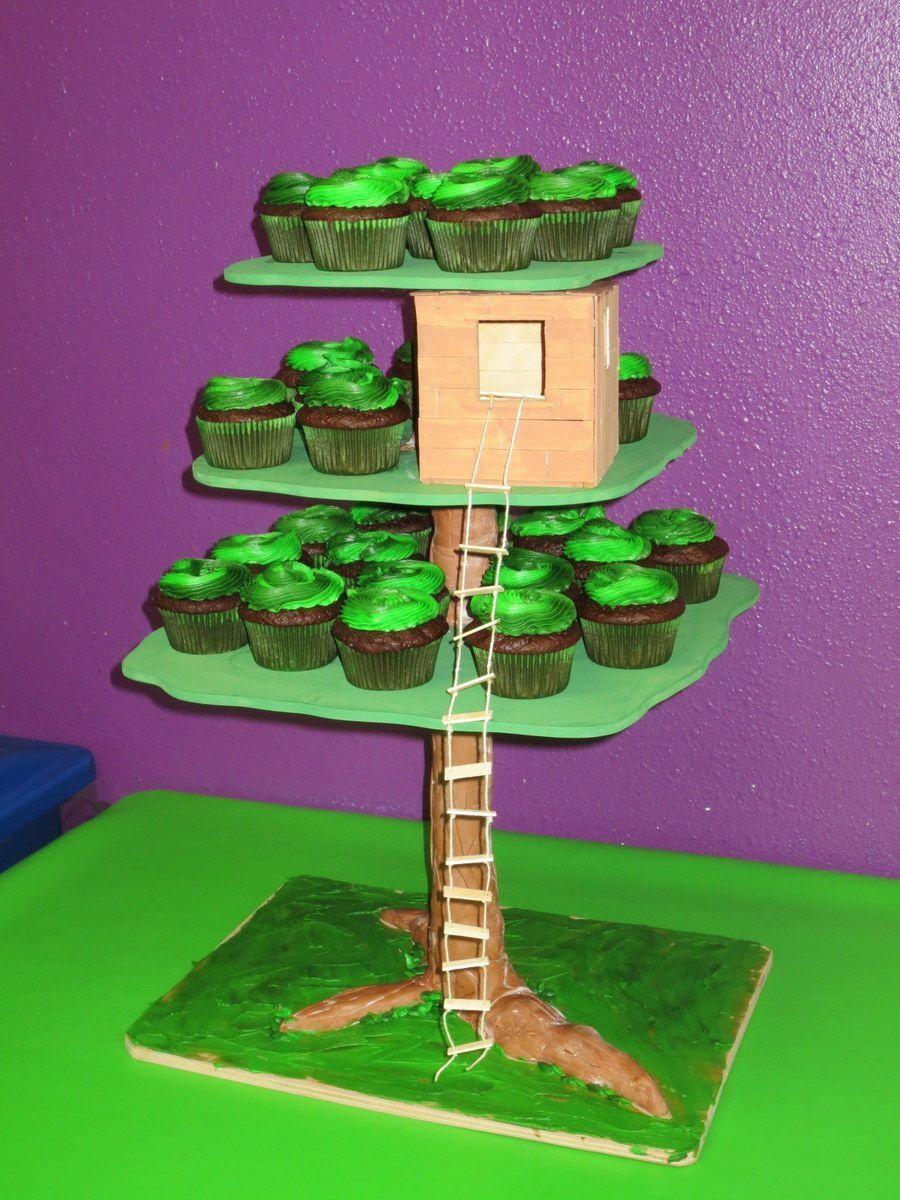 Magic Tree House Cake cupcakes fondant birthdaycake