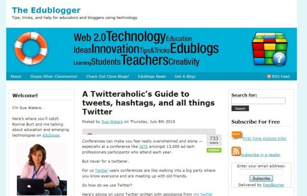 building a personal learning network with Twitter