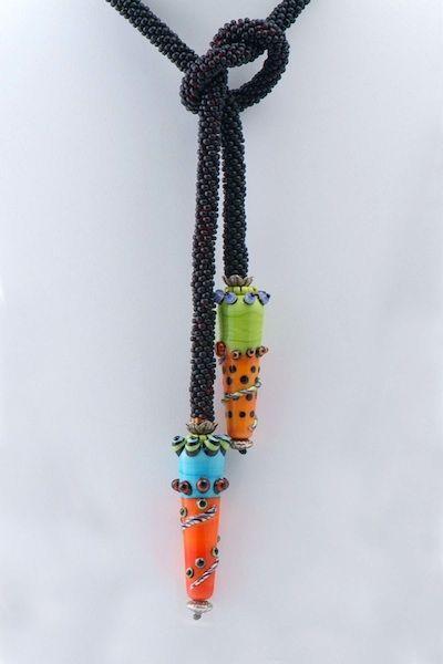 Deborah Wyscarvers Bead Crochet Jewelry Designs Bead Crochet