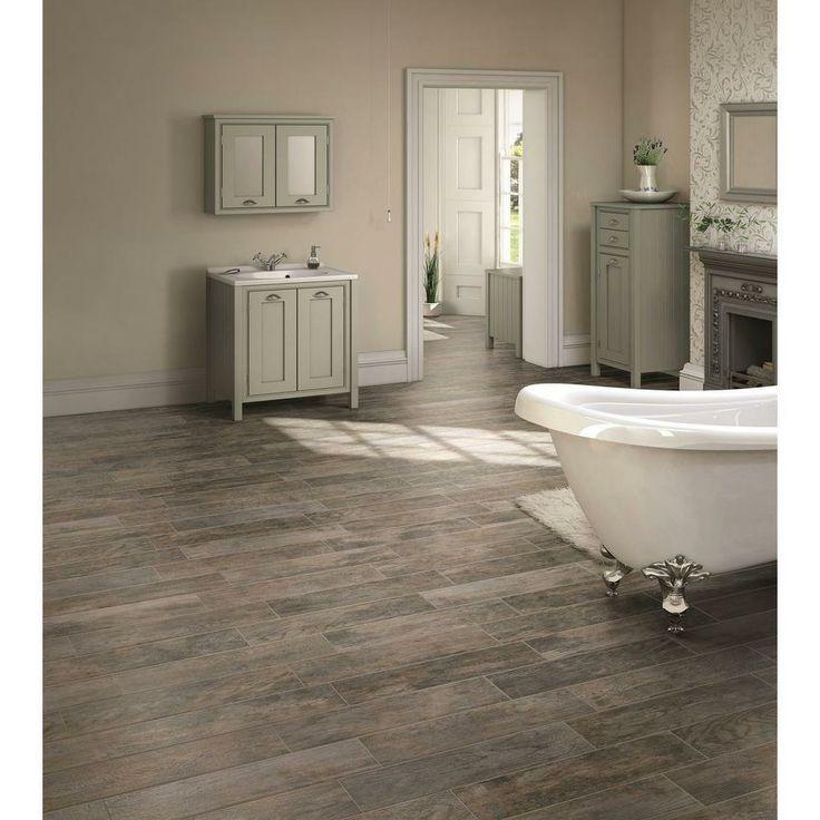 Marazzi tile floor....looks like rustic wood floors. Costs less than - Marazzi Tile Floor....looks Like Rustic Wood Floors. Costs Less
