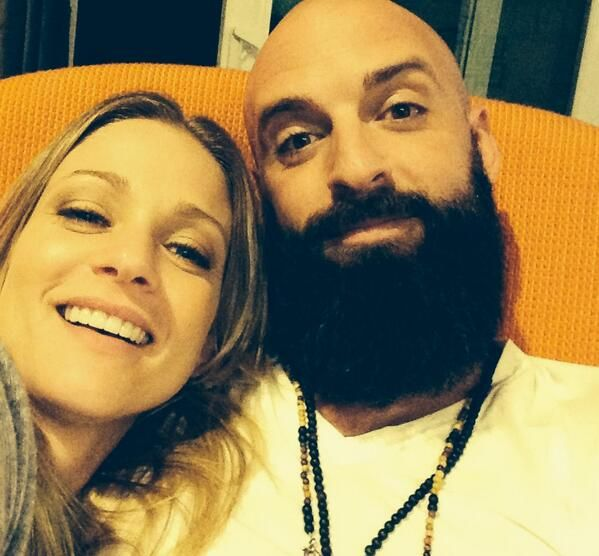"""AJ Cook on Twitter: """"""""@nathanandy: Anaranjado...hey @ajcookofficial http://t.co/gKsRBCt2xt"""" I'm going to braid that beard tonight. Maybe add some beads."""""""