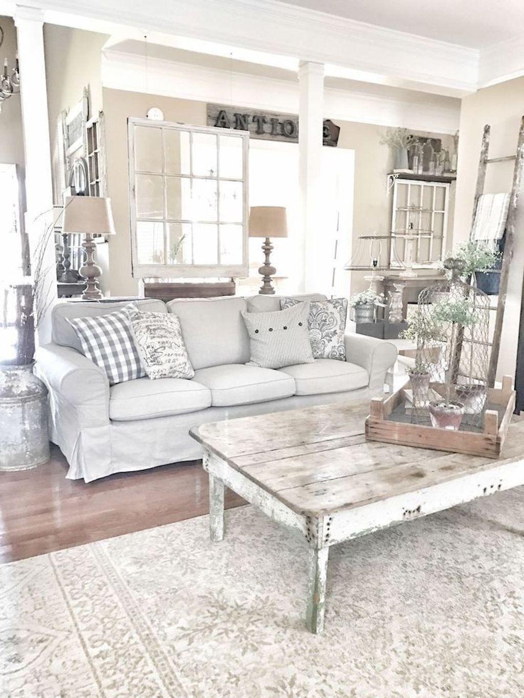 30 Modern Farmhouse Living Room Decor Dekorasi Ruang Keluarga Ide Dekorasi Rumah Set Ruang Keluarga