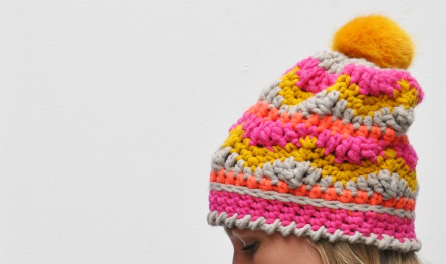 Crochet a cheerful hat and mittens | Pinterest | Ganchillo patrones ...