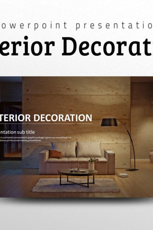 Interior Decoration Ppt Decor Presentation Templates