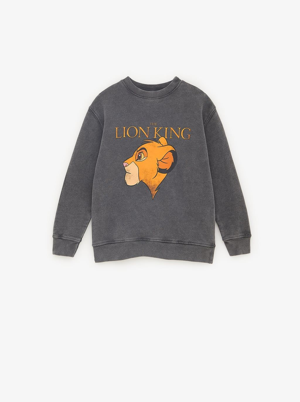 Sweatshirt C Lejonkungen Sweatshirts Flicka 6 14 Ar Barn Zara Sverige Sweatshirts Lion King Toddler Boy Fashion Fall [ 1370 x 1024 Pixel ]
