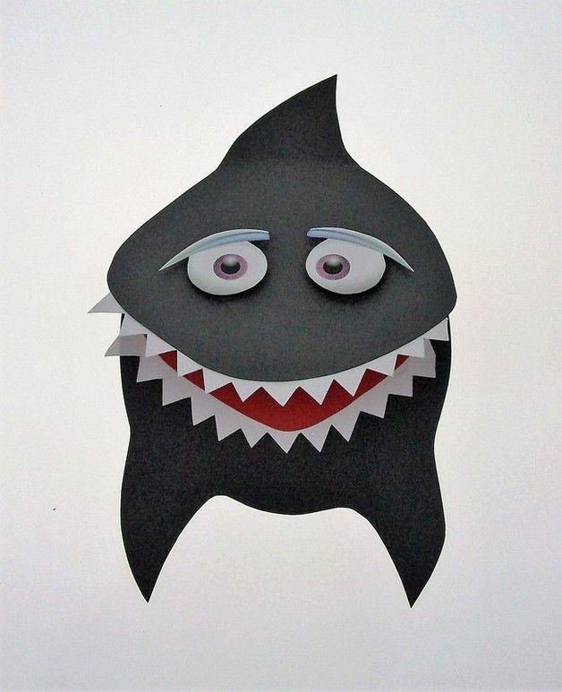 Du Suchst Eine Besondere Einladungskarte Für Deinen Besonderen Tag? Dann  Bist Du Bei Uns Genau Richtig. Einladungskarte HAI Ideal Für Deine Hai   Oder ...
