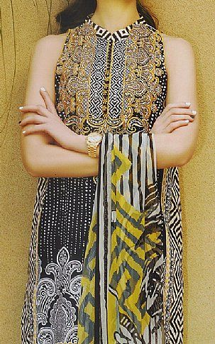 Black Lawn Suit    Buy Crescent Fashion Dress is part of lawn Suits Crescents - Pakistani Dresses online shopping in USA, UK    Indian Pakistani Fashion clothes for sale with Free Shipping  Call +1 5123801085