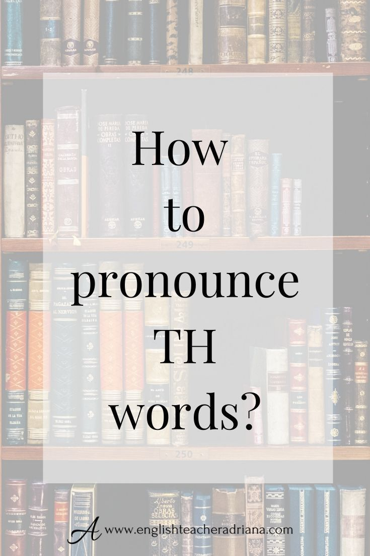 How to pronounce th words english pronunciation training